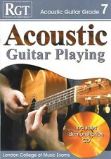 RGT ACOUSTIC GUITAR PLAYING Grade 7 Book/CD LCM*