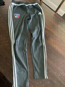 FC Dallas MLS adidas Track Pants Warm Up Dark gray Medium