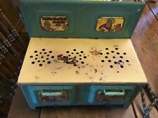 Vintage toy stove Little Orphan Annie 1930's Marx Co.