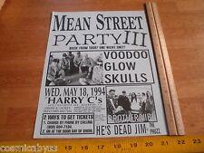 Voodoo Glow Skulls Brother Vibe 1994 ORIGINAL Punk Rock concert poster
