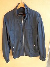 / Sonny Bono Born Trendy Mens Jacket Blue Size XL