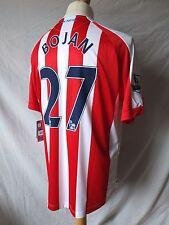 New Stoke City 2014/15 Home Shirt  Bojan 27  Adults Large