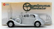 Lansdowne Models 1/43 Scale LDM79A - 1936 Railton Cobham Saloon - Silver Mist