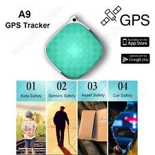 A9 Super Mini Quad Band GSM GPS Tracker Locator 2-Way Talk  for Elder,Kids Pets