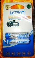 Batteria ricaricabile Leovin ministilo AAA 3600 ampere una coppia in blister