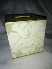 Hand Painted Handmade Square Wooden TISSUE BOX COVER