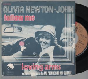 """Olivia Newton John Follow Me 45T 7"""" Inch 45 Tours france pressing 2C004-05910"""
