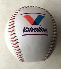 Valvoline Motor Oil Baseball With Unknown Signature