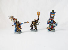 "Warhammer 40k ""Space Marines Heros"" Set of 3-Custom Painted by Pizzazz"