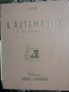 Hergé  automobile des origines a 1900-complet (1953)