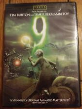 9 (DVD, 2009) from producers Tim Burton and Timur Bekmambetov