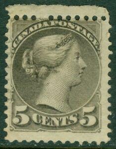 EDW1949SELL : CANADA Scott #42 Mint OG LH. Very Fresh Top margin single Cat