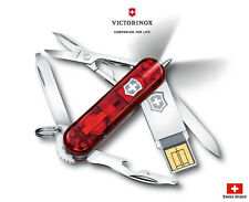 Victorinox Swiss Army Knife 58mm LED Midnite Manager@work 32GB Tools 4.6366.TG32
