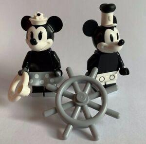 LEGO Disney SERIES 2 - VINTAGE MICKEY & MINNIE 2 minifigures genuine lego 71024