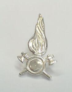 VIGILI DEL FUOCO: Spilla da giacca ( pins ) in ARGENTO 925 - Pompieri -