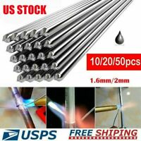 10/20/50PCS Aluminum Solution Welding Flux-Cored Rods Wire Brazing Rod 2MM/1.6MM