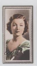 1936 Godfrey Phillips Stars of the Screen Tobacco Base #2 Myrna Loy Card 0iu