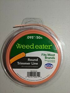 """Weed Eater Brand Replacement Trimmer Line .095"""" x 50' Ft - FREE SHIPPING!"""