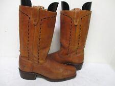 Vintage ACME DINGO Leather Hippie Boots Mens Size 9 B Style 7746 USA