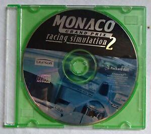 Monaco GP Racing Simulator 2 Game Ubisoft for Windows Vintage Software