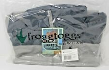 Frogg Toggs RiverToadz Jacket Grey Medium New RT62140-777MD Rain Jacket New