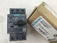 SIEMENS 3RV2411-1CA10 TRANSFORMER CIRCUIT BREAKER 1.8-2.5A SCREW (S#4-1A)