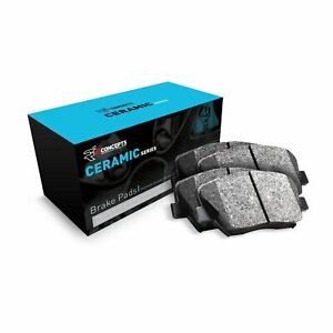 For 2008-2016 Smart Fortwo R1 Concepts Front Low Dust Ceramic Brake Pads