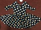 NWT Dot Dot Smile BALLERINA Twirly Dress Eggplant Girls Printed
