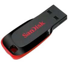 SanDisk 128GB Cruzer Blade USB 2.0 Flash Drive Memory Stick Pen drive UK SELLER