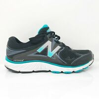 New Balance Womens 940 V3 W940BK3 Black Running Shoes Lace Up Low Top Size 9 2E