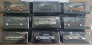 VOITURE D'EN TEMPS 1/43 NEUVE SOUS BLISTER Bugatti, Facel, Hotchkiss, Panhard...