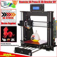 DE 3D Drucker Hohe Genauigkeit Komplettpaket 3D Printer DIY mit 1.75mm PLA DHL