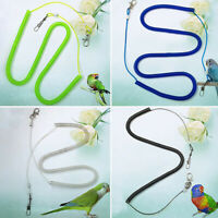 PARROTS BIRD LEASH HARNESS PETS ANTI FLYING OUTDOOR TRAINING LEAD ROPE