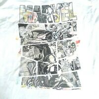 Marvel AVENGERS Comic Book Characters Classic Vintage Cover T-Shirt Large NWT!