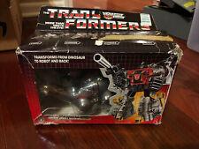 Sludge Box Only 1985 Action Figure Vintage Hasbro G1 Transformers