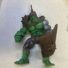 Marvel legends planet hulk silver arm variant With accessories
