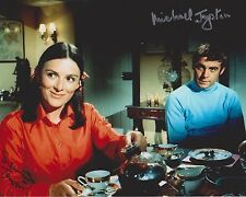 Michael Jayston & Susan Jameson Signed 8x10 Photo - Gerry Anderson's UFO - G961