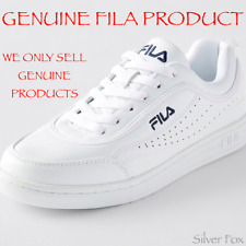 FILA BELLA WOMENS WHITE TENNIS SPORT SHOES SNEAKERS RUNNERS NEW WITH TAGS