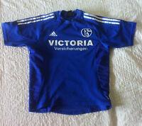 Schalke 04 adidas Trikot Grösse S Victoria Versicherungen S04 Saison 2004/05