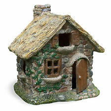 Miniature Dollhouse Fairy Garden Thatched Roof House
