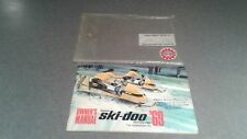 New listing Extremely RARE !!! Vintage 1969 SKI-DOO Bombardier Snowmobile Owner`s Manual !!!