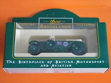 Lledo - The Spirit Of Brooklands Diecast Model Collection - 1930 Green Bentley