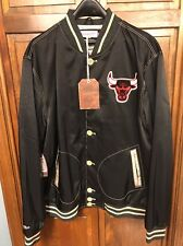 Mitchell & Ness Chicago Bulls Game Changer Satin Jacket Men's 3XL $250 NWT New