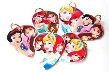 Princess Set - 8 Necklace Pendants -Party Favor   Prizes Necklace Jewelry