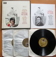 SAN 184-6 Puccini Madama Butterfly Sir John Barbirolli 3xLP EMI Angel EX/VG