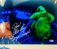Ken Page signed Oogie Boogie 11X14 photo NBC BAS COA W24800