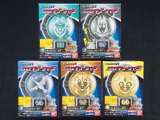 Bandai Power Rangers Uchu Sentai Kyuranger SG Kyutama 5 Candy Toy Set of 5 Japan
