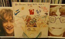 JOHN LENNON Walls And Bridges 1974 Apple SW-3416 inner & booklet EX / NM vinyl