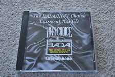 * V/A - The BADA / Hi-Fi Choice Classical Test CD * Sony Classical HFCCD5 *