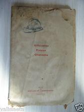 RARE LIVRE SILHOUETTE POESIES CHANSONS 1921 MARCEL PEYROUTON / MADAGASCAR